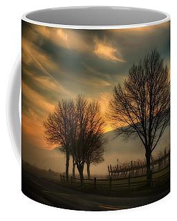 Foggy And Dreamy Coffee Mug by Lynn Hopwood