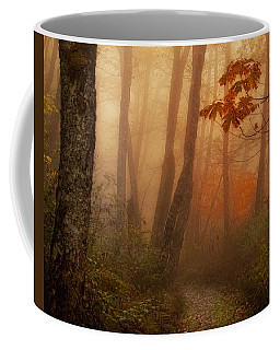 Coffee Mug featuring the photograph Foggy Autumn by Mary Jo Allen