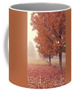Foggy Autumn Morning Etna New Hampshire Coffee Mug