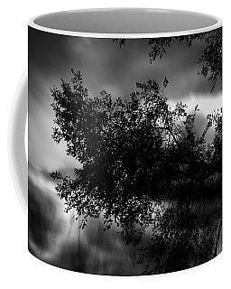 Foggy Autumn Morning On The River Coffee Mug