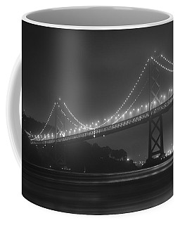 Foggy Bay Bridge Coffee Mug