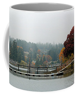 Coffee Mug featuring the photograph Foggy Day In October by E Faithe Lester