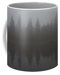 Foggy Morning On The Lake Coffee Mug
