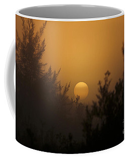 Foggy Sunrise Coffee Mug