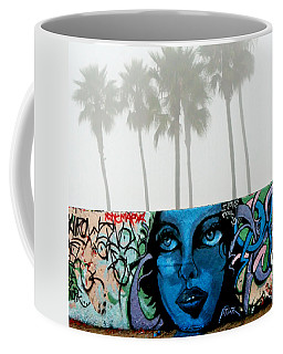 Foggy Venice Beach Coffee Mug