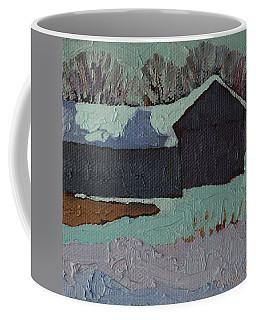 Foley Mountain Farm Coffee Mug by Phil Chadwick