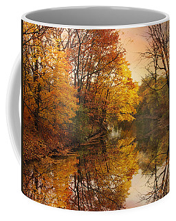 Coffee Mug featuring the photograph Foliage Reflected by Jessica Jenney
