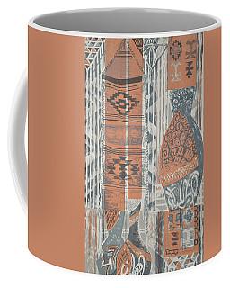 Folk Arabic Symbols Coffee Mug