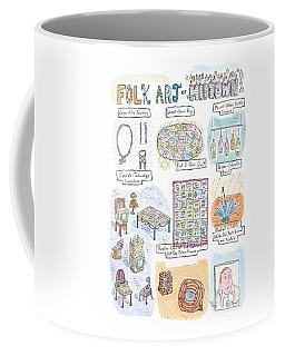 'folk Art Of Midtown' Coffee Mug