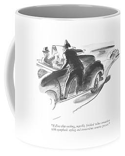 Follow That Exciting Coffee Mug