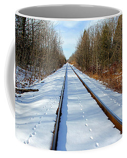 Coffee Mug featuring the photograph Follow Your Own Path by Debbie Oppermann