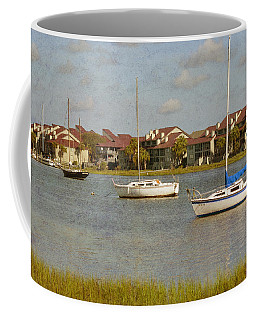 Folly Beach Boats Coffee Mug
