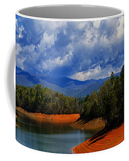 Fontana Lake Storm Coffee Mug