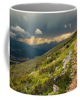 Foot Path Into The French Alps Coffee Mug