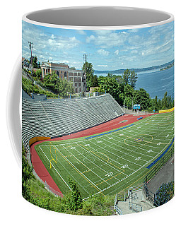 Football Field By The Bay Coffee Mug