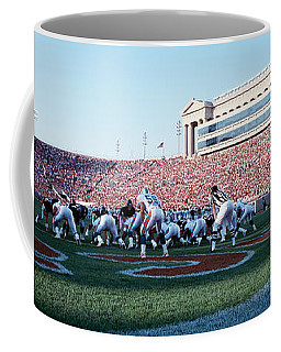 Football Game, Soldier Field, Chicago Coffee Mug