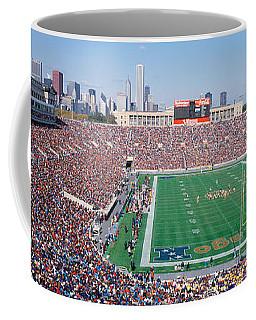 Football, Soldier Field, Chicago Coffee Mug