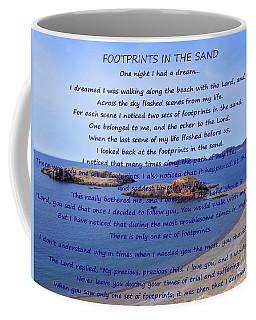 Footprints In The Sand 2 Coffee Mug