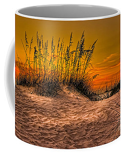 Footprints In The Sand Coffee Mug by Marvin Spates