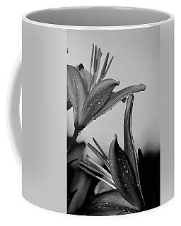 For The Love Of Lillies Bw Coffee Mug