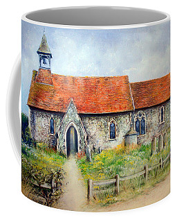 For Whom The Bell Tolls Coffee Mug by Rosemary Colyer
