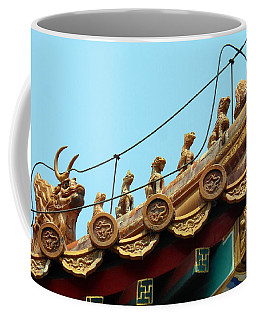 Forbidden City Roof Adornment Coffee Mug by Kay Gilley