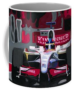 Force India Rising In F1 Monaco Grand Prix 2008 Coffee Mug