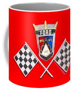Ford Emblem Coffee Mug by Jerry Fornarotto