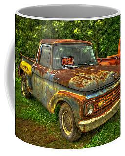1962 Ford Pickup Truck F Series Fourth Generation  Coffee Mug