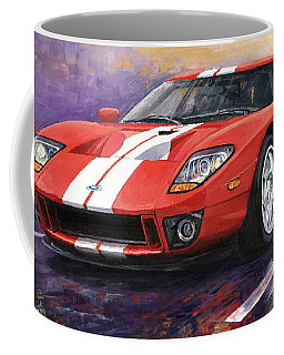 Ford Gt 2005 Coffee Mug
