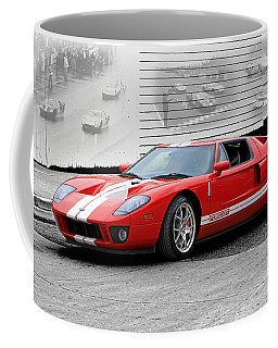 Ford Gt And Gt40 Memories Coffee Mug by Christopher McKenzie