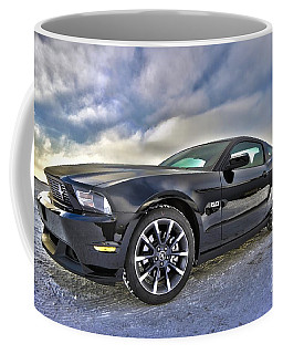 ford mustang car HDR Coffee Mug by Paul Fearn