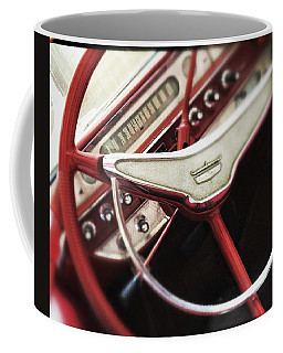 Coffee Mug featuring the photograph Ford Sunliner by Bradley R Youngberg
