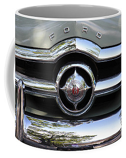 Ford V8 1949 - Vintage Coffee Mug by The Art of Alice Terrill