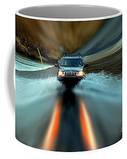 Fording The Jordan Coffee Mug