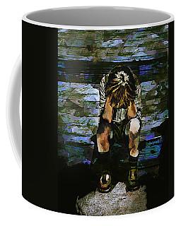 Forecast - Portrait Of A Sad Boy Coffee Mug