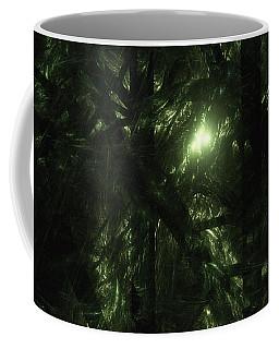 Coffee Mug featuring the digital art Forest Light by GJ Blackman