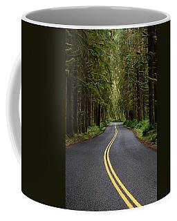 Forest Road Coffee Mug by David Andersen