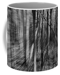 Forest Time B.w Coffee Mug