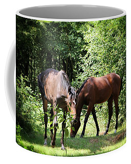 Forest Visitors Coffee Mug