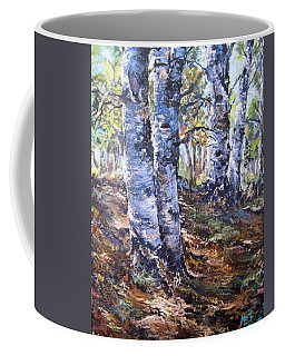 Forest Walk Coffee Mug by Megan Walsh