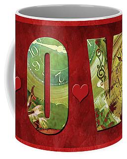 Forever Love #2 Coffee Mug by Claudia Ellis