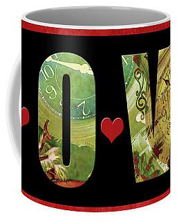 Forever Love Coffee Mug by Claudia Ellis