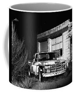 Coffee Mug featuring the photograph Forgotten Ford by Christopher McKenzie