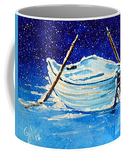 Forgotten Rowboat Coffee Mug