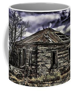 Coffee Mug featuring the painting Forgotten by Muhie Kanawati