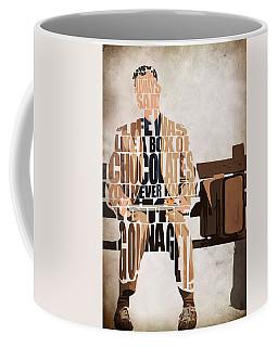 Forrest Gump - Tom Hanks Coffee Mug by Ayse Deniz