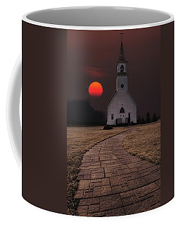 Fort Belmont Sunset Coffee Mug