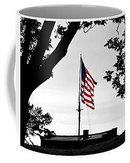 Fort Mchenry Flag Color Splash Coffee Mug