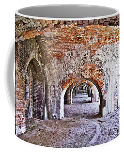 Coffee Mug featuring the photograph Fort Pickens Archway In Florida by Jennifer Muller